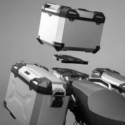 Bauletto moto Sw Motech TRAX ADV 38 argento, Bauletti