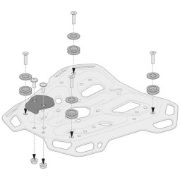 Adapterkit Adventure-Rack Sw Motech Gepäckträger, Motorcycle-Soul - Startseite