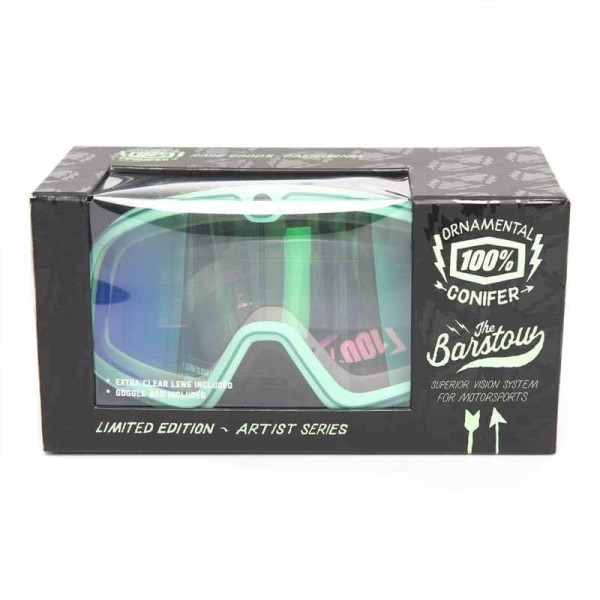 Motorcycle Goggles 100% Barstow ORNAMENTAL CONIFER