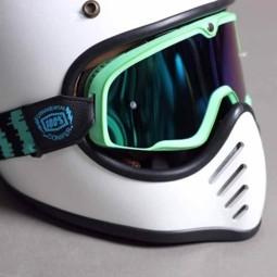 Motorradbrille 100% Barstow ORNAMENTAL CONIFER ,Motorradbrillen