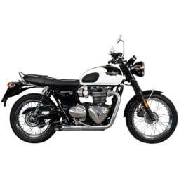 Spark 2in2 HOT ROAD Evolution Motorrad Auspuff silber