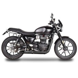 Échappement moto Spark 2in2 HOT ROAD Evolution noir