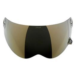 Visier Biltwell Lane Splitter GEN-2 Gold Mirror Shield