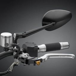 Rizoma Radial RS motorcycle mirrors black