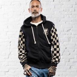 Motorrad hoodie Holy Freedom Sir Cock