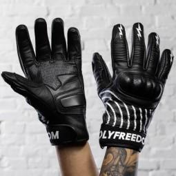 Holy Freedom Ipnotico motorcycle gloves