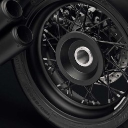 Rizoma Rear hub cover Black