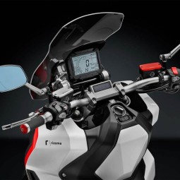 Rizoma couvercle Réservoir de fluide frein avant Honda rouge