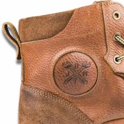 John Doe Shifter XTM motorcycle shoes brown