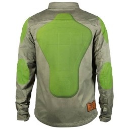 Camicia moto John Doe JDM Motoshirt XTM Olive