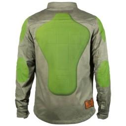 Camisa moto John Doe JDM Motoshirt XTM Olive