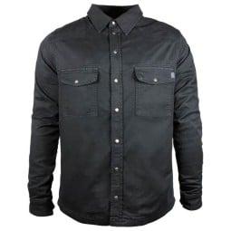 Camicia moto John Doe JDM Motoshirt XTM nera
