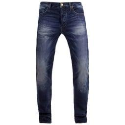 John Doe Ironhead XTM jeans moto used dark blue
