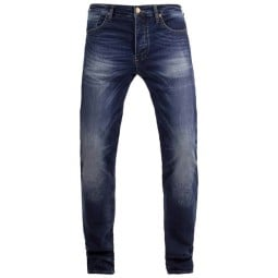 John Doe Ironhead XTM motorrad jeans dunkelblau