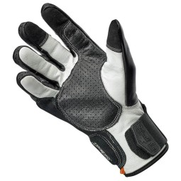 Motorcycle gloves Biltwell Borrego black cement