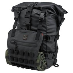 Biltwell Exfil-60 bag black motorcycle backpack