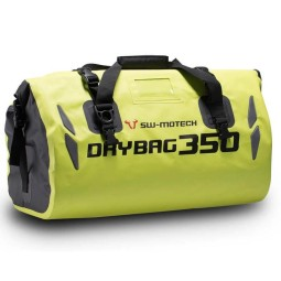 Sw Motech Drybag 350 motorcycle tail bag yellow fluo