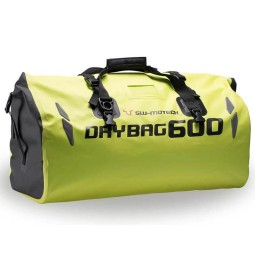 Sw Motech Drybag 600 motorcycle tail bag yellow fluo
