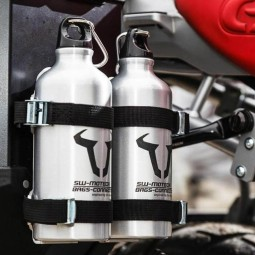 Sw Motech TRAX bottle set 2