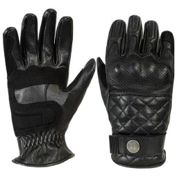 John Doe Tracker motorrad handschuhe schwarz