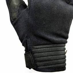 Motorcycle Textile Gloves HELSTONS Simple Black ,Motorcycle Textile Gloves