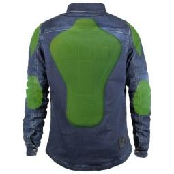 Camisa moto John Doe Motoshirt XTM denim