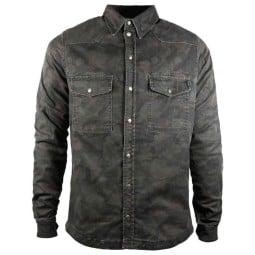 Camisa moto John Doe Motoshirt XTM camouflage
