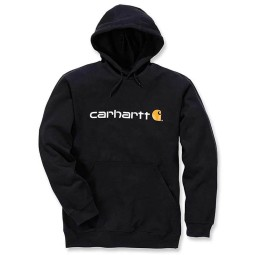 Carhartt Signature Logo Hoodie black