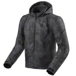 Revit Flare 2 motorcycle jacket grey camo