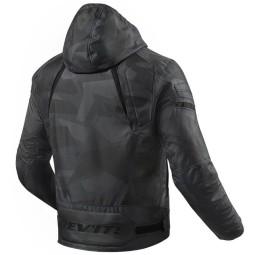 Revit moto chaqueta Flare 2 gris camo