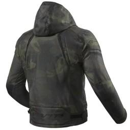 Revit moto chaqueta Flare 2 verde camo