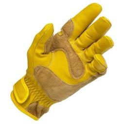 Biltwell Work handschuhe gold