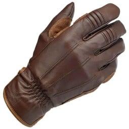 Biltwell Work handschuhe Schokolade