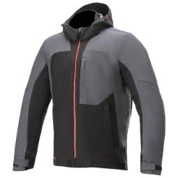 Alpinestars Stratos V2 Techshell schwarz grau Jacke