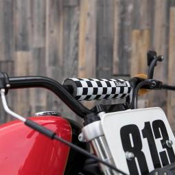 Biltwell Moto Bar Pad Checkers reversible