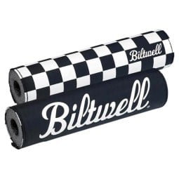 Biltwell Moto Bar Pad Checkers reversibel