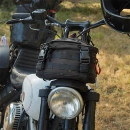 Bolsa horquilla moto Biltwell Exfil-7 negra