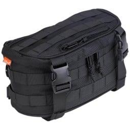 Biltwell motorcycle fork bag Exfil-7 black