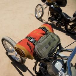 Bolsa horquilla moto Biltwell Exfil-7 verde