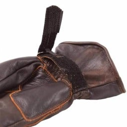 Motorcycle Leader Gloves HELSTONS Legend Brown ,Motorcycle Leather Gloves