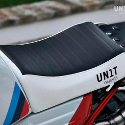 Paris Dakar Sitzbank In Sky BMW NineT Unit Garage