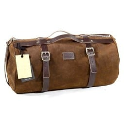 Sacoche moto Duffle Bag Kalahari 25L Unit Garage marron