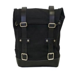 Sac moto Canvas Unit Garage noir