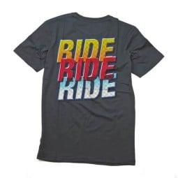 T-shirt Roeg Moto Co RIDE2 gris