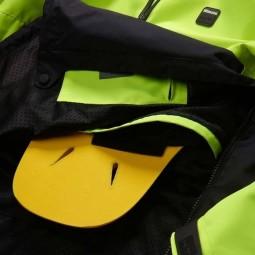 Chaqueta moto Blauer HT Spring Pull Man amarillo azul
