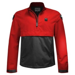 Giacca moto Blauer HT Spring Pull Man rosso blu