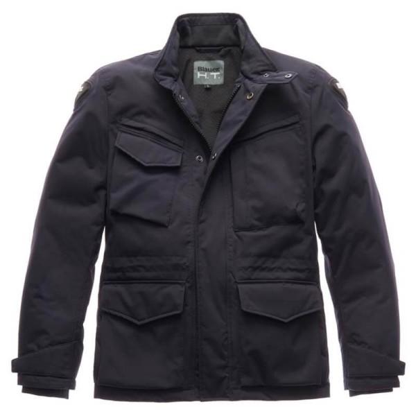 Blauer Ethan winter blue motorcyle jacket