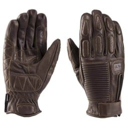 Blauer HT Banner motorcycle gloves brown