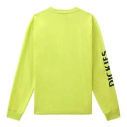 Dickies Baldwin camiseta amarillo manga larga