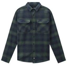 Camisa de cuadros verde Dickies Pleasant Hill